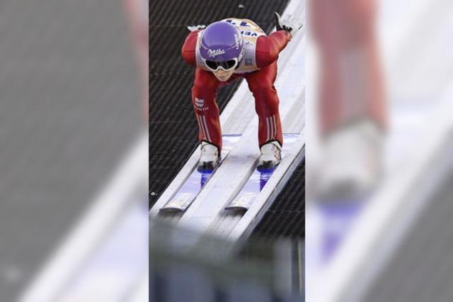 Die Skispringer überzeugen