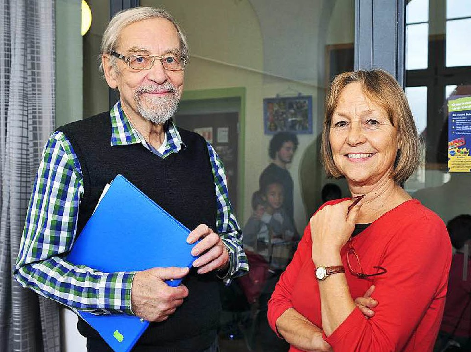 Reinhold Schlicksbier,  Rita Stamm  | Foto: Thomas Kunz
