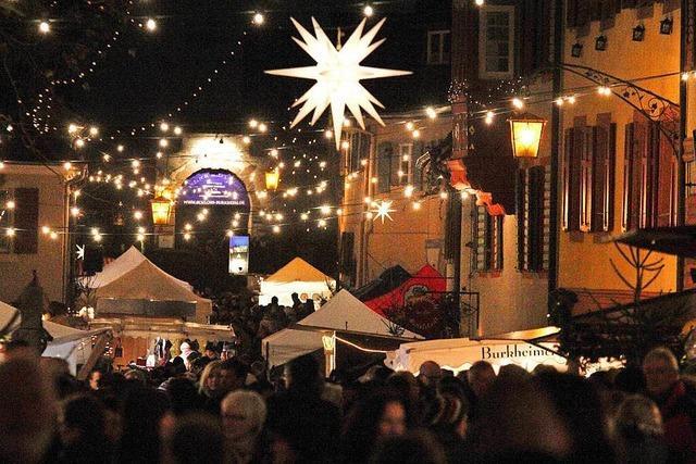 Großer Weihnachtsmarkt in Burkheim