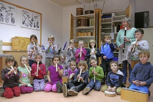 Musizieren mit Schülern