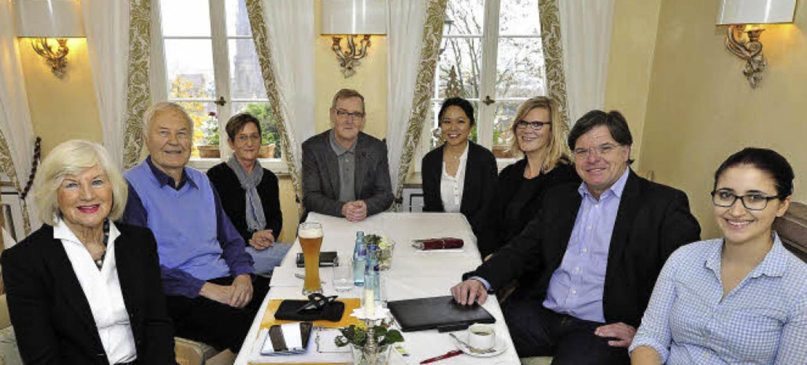 Der Stammtisch der Freiburg-Madison-Ge...findet im Greiffeneggschlössle statt.   | Foto: Thomas Kunz