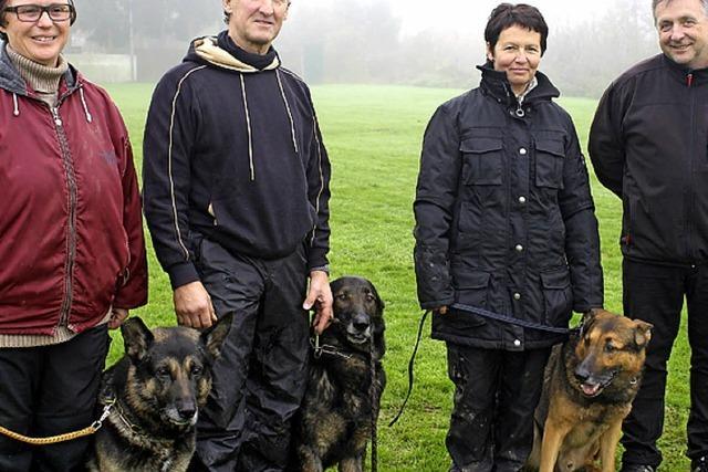 Erfolge für Hundeführer