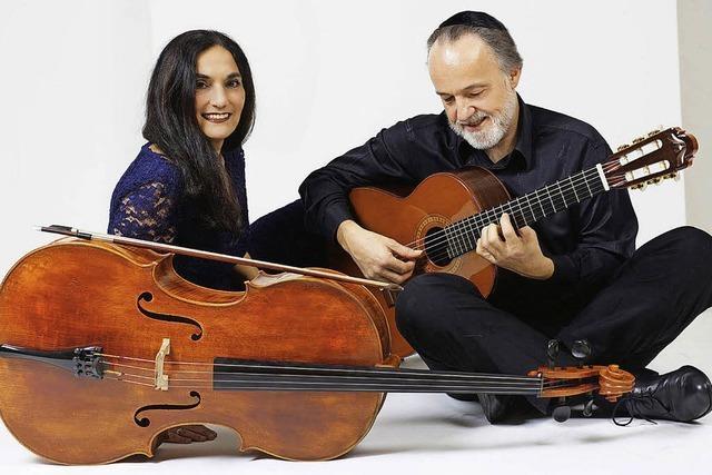 Cello und Gitarre