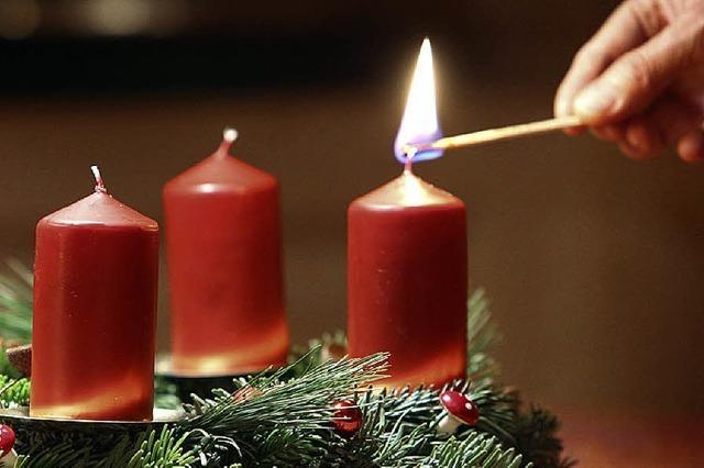 Zusammen auf Weihnachten warten