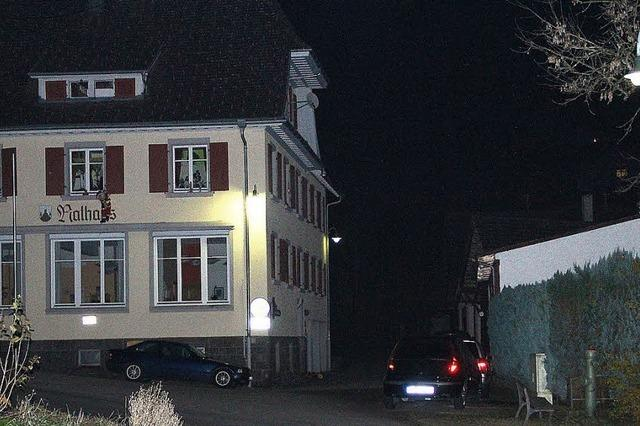 In Malsburg-Marzell gehen LED-Lichter auf