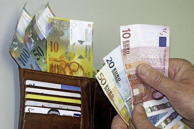 Aus teuren Franken werden Euro