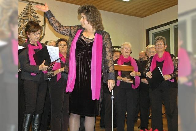 Publikum singt begeistert mit
