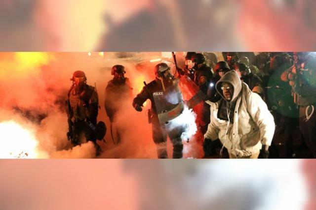 Die Lage in Ferguson eskaliert