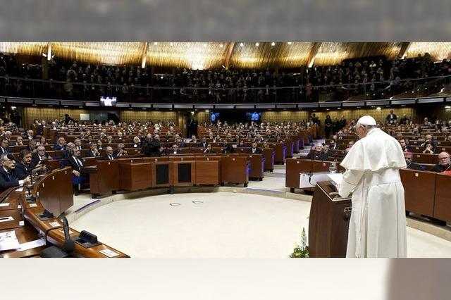 Der Papst in Straßburg: Abseits der Massen