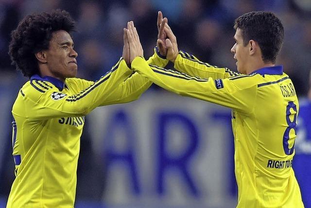 Chancenlos gegen Chelsea