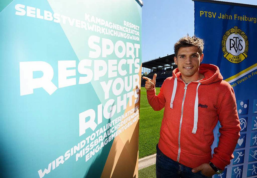 SC-Fußballer Oliver Sorg ist Schirmherr der Kampagne  | Foto: Patrick Seeger