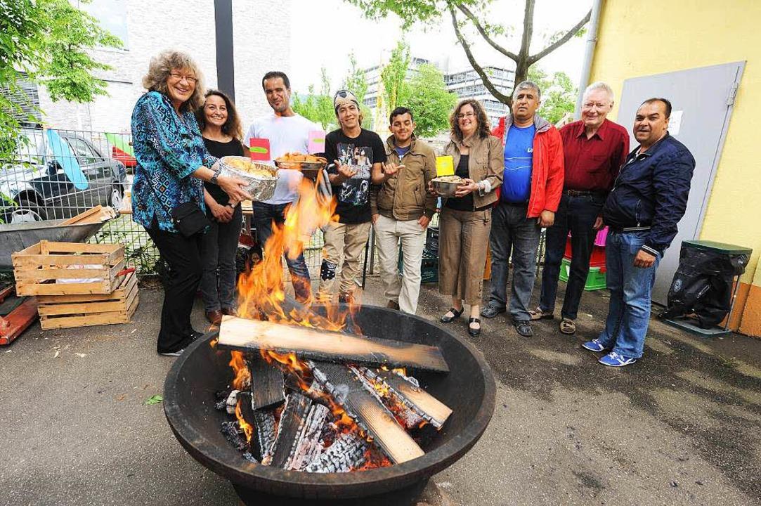 Willkommensfest des Bürgervereins Herdern.  | Foto: Rita Eggstein