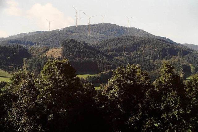 Ein Windkraft-Standort genügt dem Gemeinderat Kirchzarten nicht
