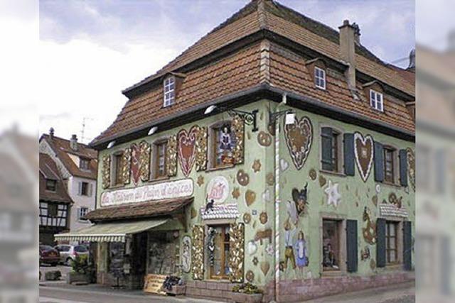 Lebkuchenhautpstadt Gertwiller: Paläste für die süße Leckerei
