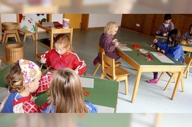 Die Kinderbetreuung wird ausgebaut