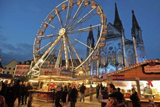 Die schönsten Weihnachtsmärkte jenseits des Rheins