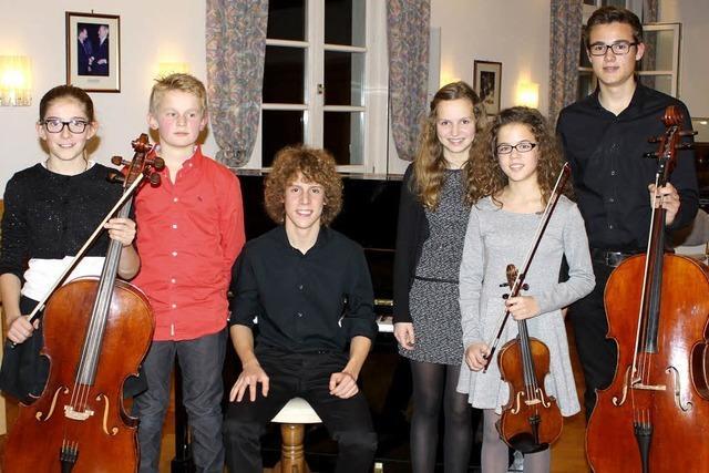 Junge Meister der klassischen Musik