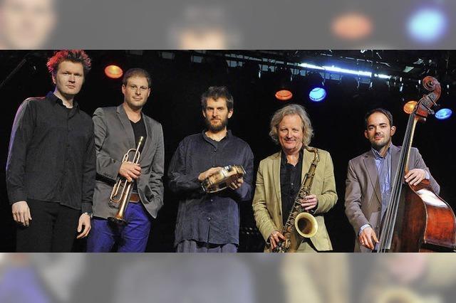 All Star Besetzung um Trompeter Thomas Siffling im Jazztone