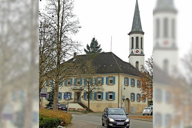 Vörstettens Rathaus wird saniert
