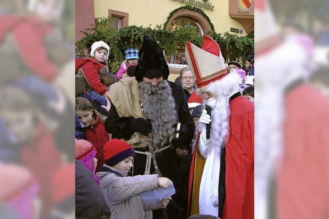 Der Nikolaus ist pünktlich