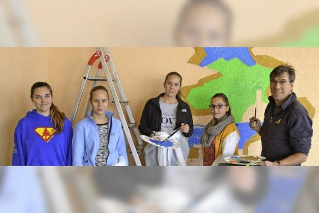 Die Realschule öffnet den Farbtopf
