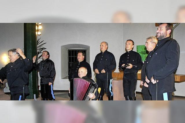 Ural Kosaken Chor zu Gast