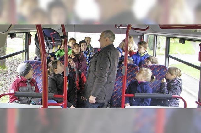 Busfahren will gelernt sein