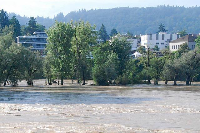 Mehr Hochwasserschutz am Rhein und den Zuflüssen