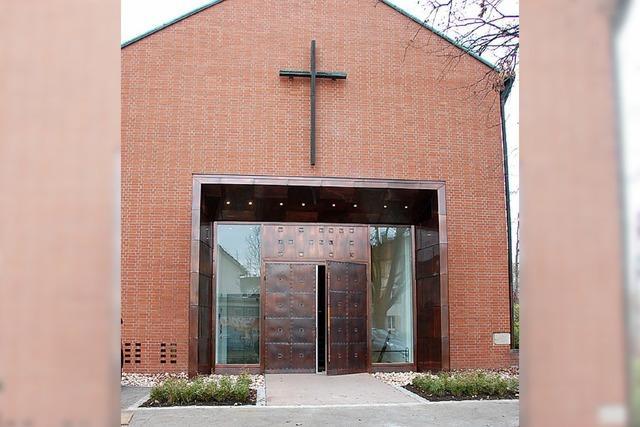 Erster Gottesdienst in sanierter Friedenskirche