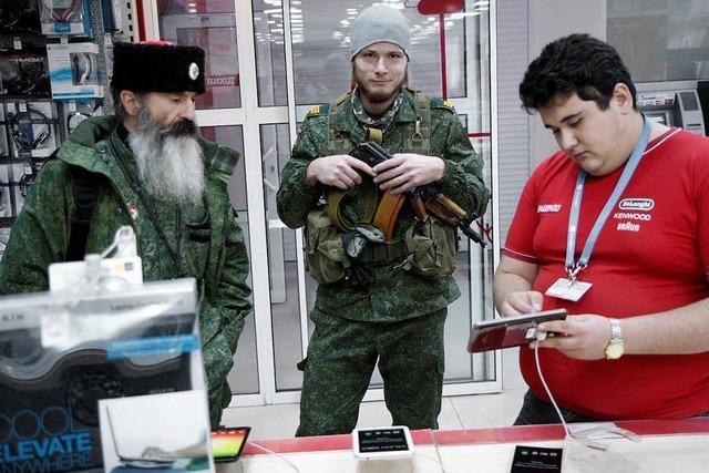 Menschen im Donbass leben zwischen Krieg und Frieden