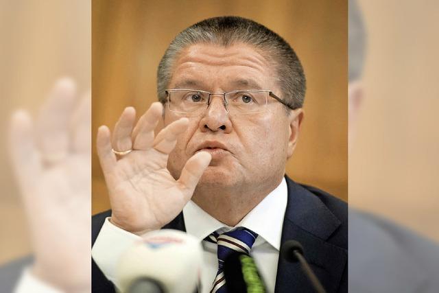 Russischer Minister wirbt um Investitionen