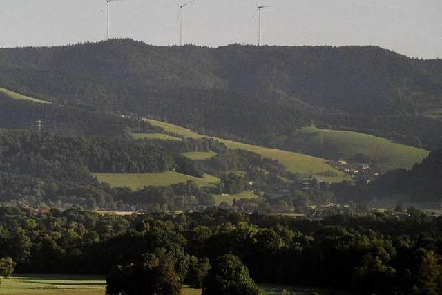 Drei Windkraftflächen im Dreisamtal beschlossen