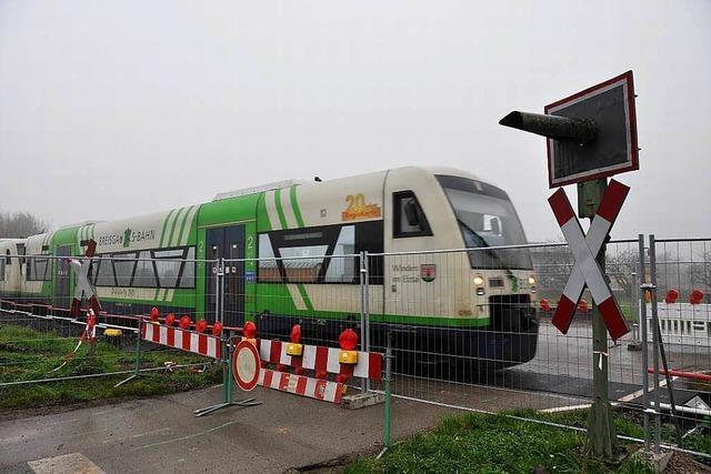 Bahnübergang wieder geöffnet – Bürgermeister nicht zufrieden
