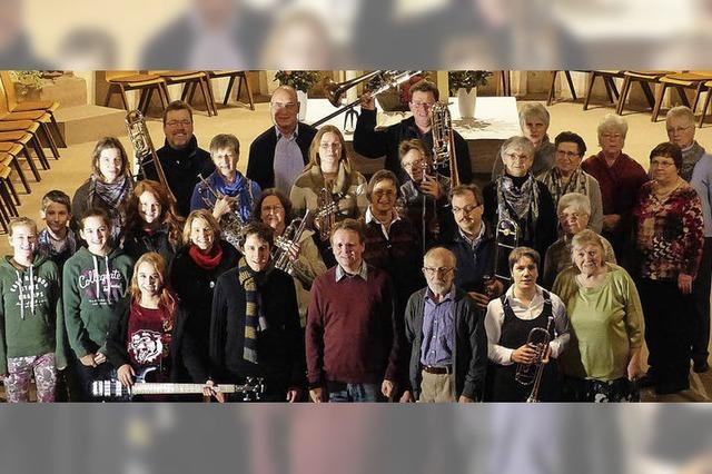 Posaunenchor tritt in der Jakobskirche in Malterdingen auf
