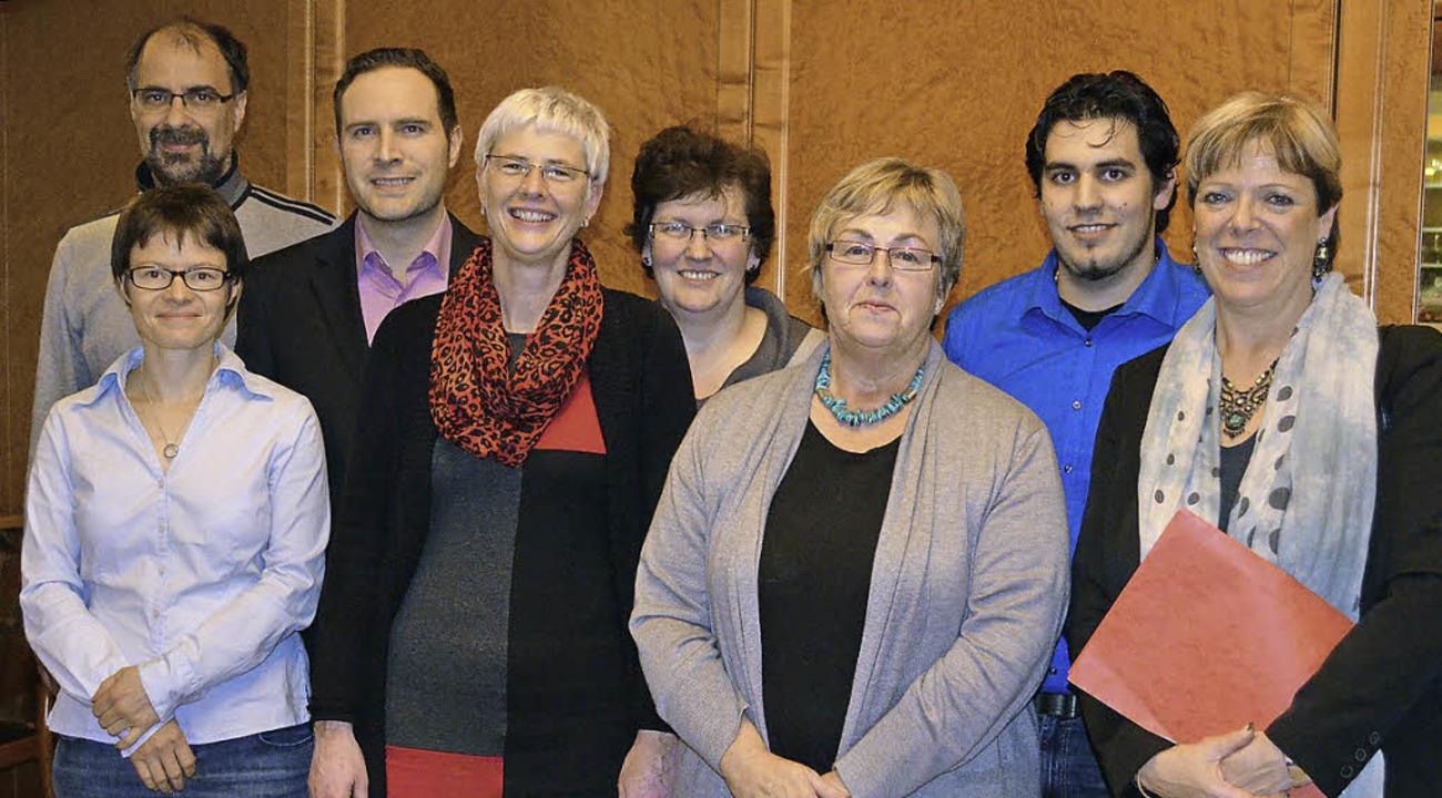 Der Vorstand des SPD-Ortsvereins Waldk...isser, Dominik Capece, Sabine Wölfle.     Foto: Nikolaus Bayer
