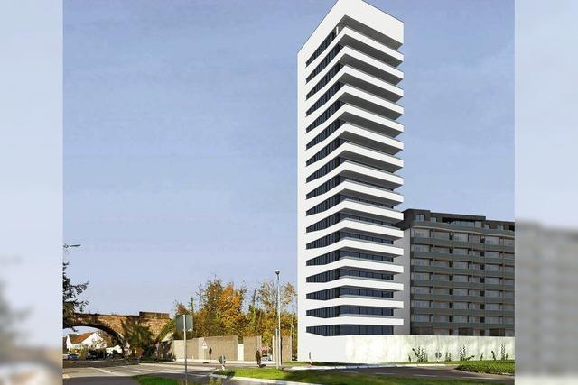 Baubeginn für Turm bei der Zollfreien