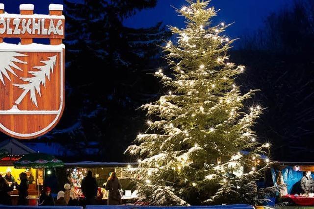 Dritter Weihnachtsmarkt in Holzschlag