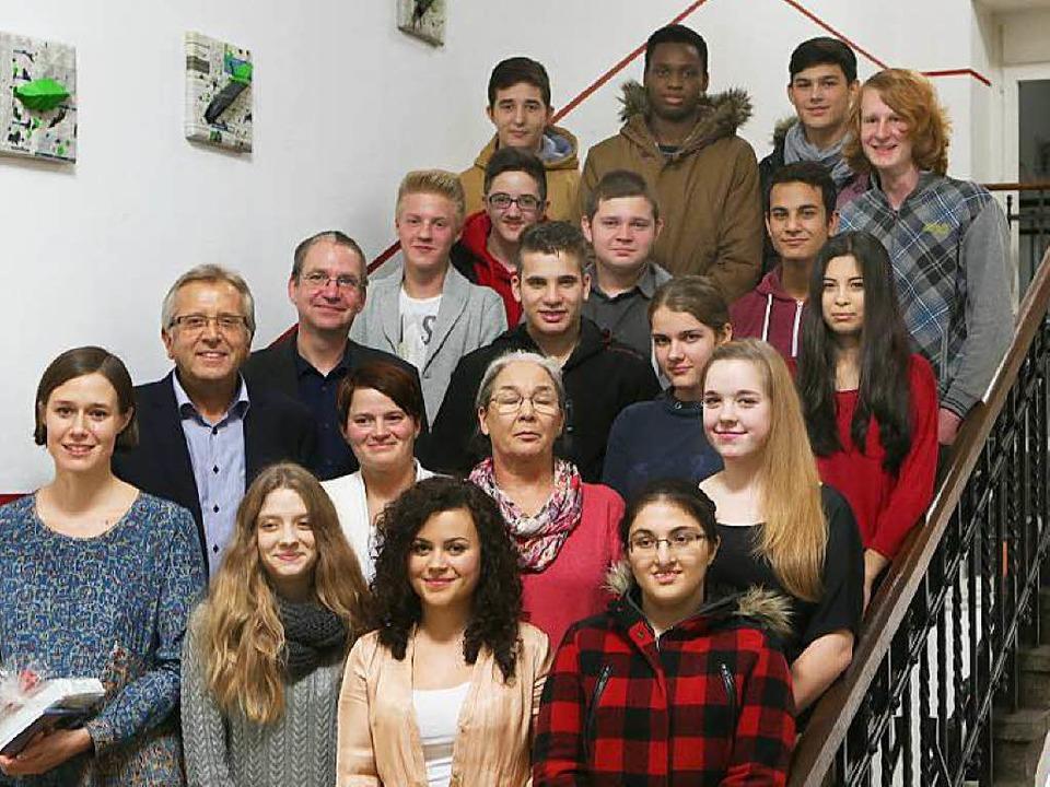 Die Schülerinnen und Schüler der Friedrichschule    Foto: Christoph Breithaupt, Christoph Breithaupt