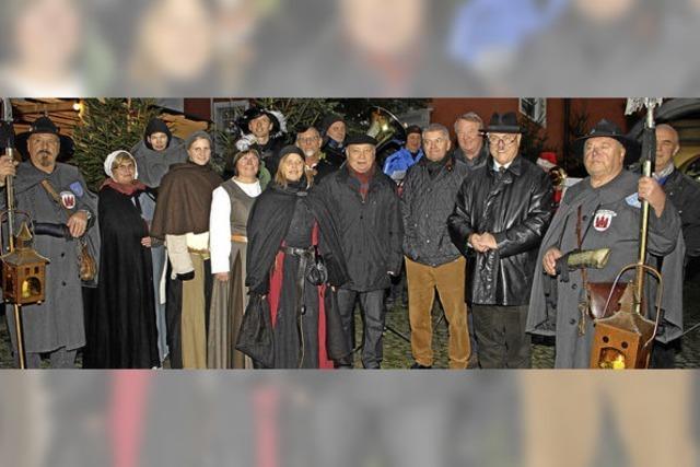 Der 21. Vogtsburger Weihnachtsmarkt ist eröffnet