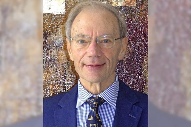 In den Ruhestand will Günther Nufer partout nicht