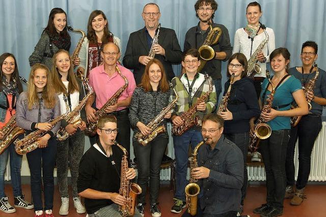 Ein Abend für das Saxophon