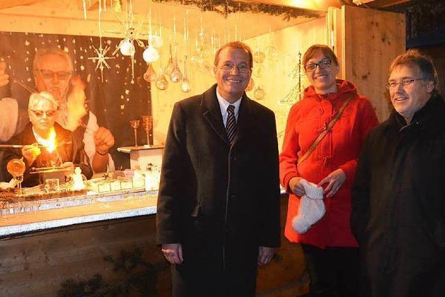 Der Rheinfelder Weihnachtsmarkt ist eröffnet