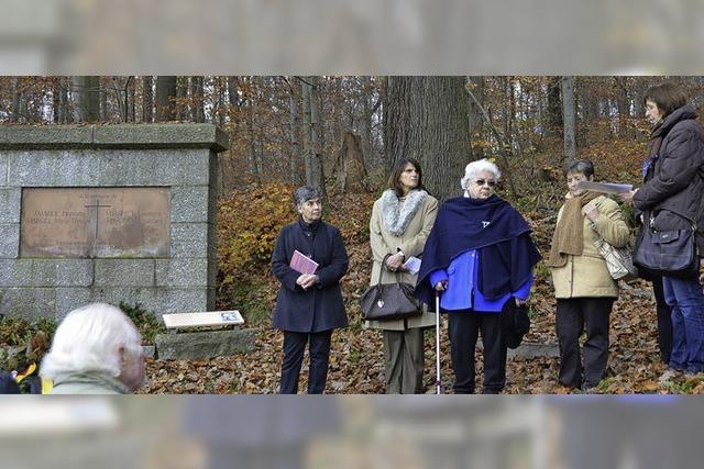 Gedenken an Opfer des Widerstandes