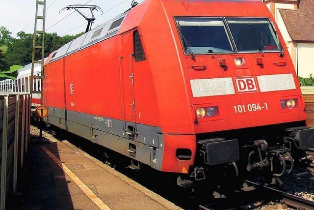 Lokführer verpasst mit Intercity den Halt in Lahr