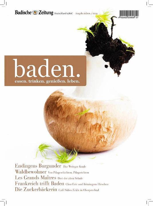 Das neue Heft ist da: baden.  | Foto: -