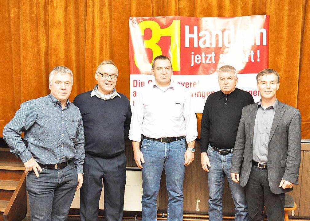 von links:  Hans-Peter Geppert (GV Bre...rg) und Hans Mattmüller (BI Ihringen).  | Foto: Kai Kricheldorff
