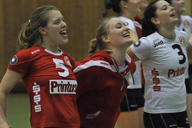 Erster Dreier für Offenburgs Zweitliga-Volleyballerinnen