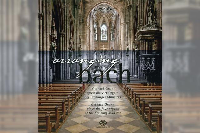 Bach – an den vier Münsterorgeln
