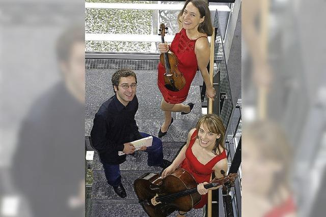 Kammermusik: Heideker-Trio in Freiburg