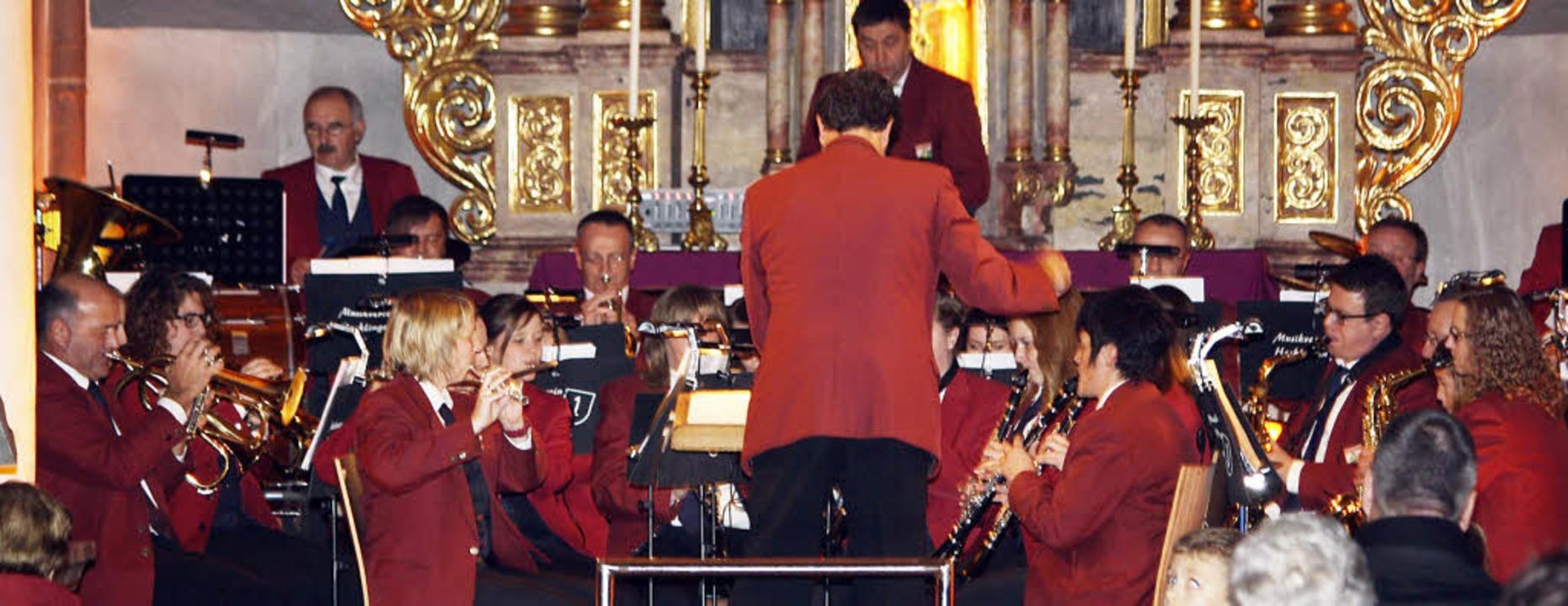 Besinnliches mal traditionell, mal mod...umsjahrs in der Sankt-Andreas-Kirche.   | Foto: Werner Schnabl